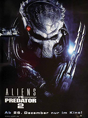Aliens vs. Predator 2 - Steven Pasquale - Filmposter A1 84+x60cm gerollt (2)
