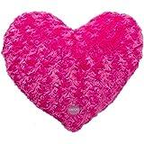 Cuscino a forma di cuore, colore: rosa