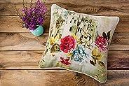 Regency Klub Digital Printed Cuhions Cotton Duck Fabric - 45 x 45 cm Design # 3