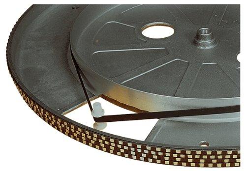 Schwarz 210 mm Plattenspieler Antriebsriemen