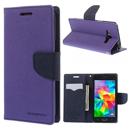 Rapid Zone Flip Cover For Xiaomi Redmi Note 4G - Purple  available at amazon for Rs.189