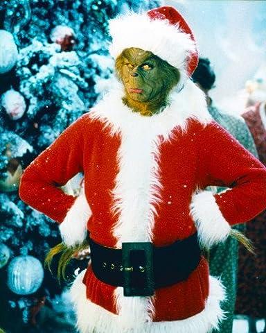 Wie der Grinch Weihnachten gestohlen hat mit Jim Carrey 10x 8Werbe Foto (Weihnachten Grinch Foto)
