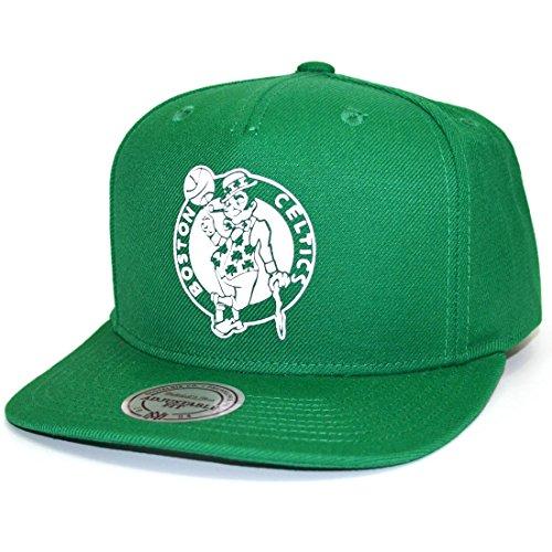 Mitchell & Ness Snapback Cap Raised Perimeter Boston Celtics green