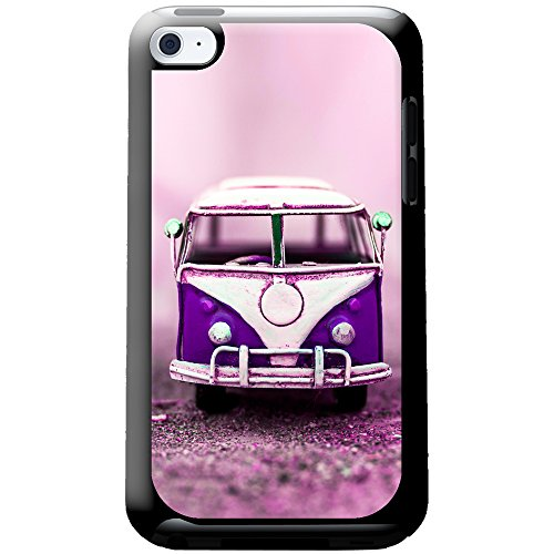 old-purple-camper-van-snap-on-hard-back-case-ipod-cover-for-apple-ipod-touch-4th-generation
