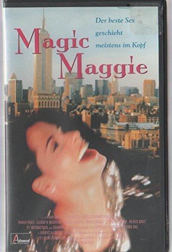Magic Maggie - Margaret ... Crazy, Sexy, Cool (Der beste Sex geschieht meistens im Kopf) [Verleihversion] [VHS]