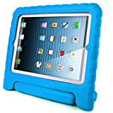 iPad Case for kids, SAVFY Shockproof Case Light Weight Kids Case Super Protection Cover Handle Stand Case for Kids Children for Apple iPad 4, iPad 3 & iPad 2 2nd 3rd 4th Generation (Blue)
