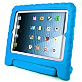 #3: iPad Case for kids, SAVFY Shockproof Case Light Weight Kids Case Super Protection Cover Handle Stand Case for Kids Children for Apple iPad 4, iPad 3 & iPad 2 2nd 3rd 4th Generation (Blue)