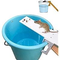 SODIAL Controlador de plagas de jardin casa Trampa para ratas Matanza rapida Cebo ratonera balancin
