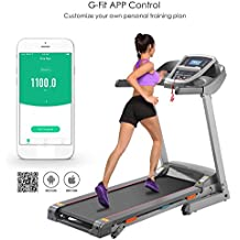 Oldhorse S8100 – Cinta de Correr Eléctrica Plegable Alfombra Ruedas Fitness Treadmill con Motor 3,
