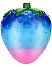 Squishy Fresas Galaxia Kawaii Squishys Grandes Con Olor Slow Rising Squeeze Juguetes AntiestréS