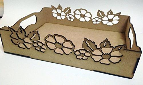 Vassoi In Legno Fai Da Te : Fai da te con legno. set di 3 vassoi in legno mdf per dipingere e