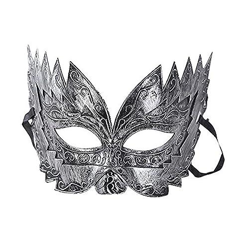Eizur Rétro Mascarade Masque Roman Gladiateur Mask pour Halloween Partie