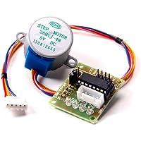 Dc 5v 4 Fases De 5 Hilos Micro Motor Eléctrico Paso 28BYJ-48 Con Placa Del Módulo De Accionamiento Uln2003