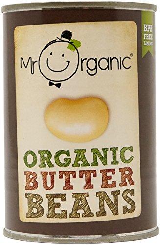 Mr Organic Butter Beans, 400g