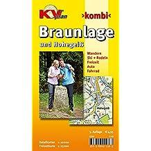 Braunlage und Hohegeiß: 1:10.000 Stadtplan mit Freizeitkarte 1:25.000 (KVplan-Kombi-Reihe / http://www.kv-plan.de/reihen.html)