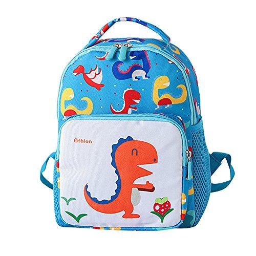 Zolimx scuola borsa, bambino bambino ragazze ragazzi bambini cartoon dinosauro animale zaino bambino scuola borsa