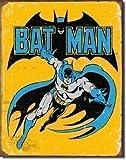Batman Retro Vintage metal sign (yellow bgrd)