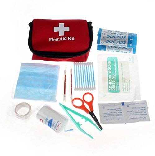 Sannysis Emergency Survival First Aid Kit Pack Erste-Hilfe-Set