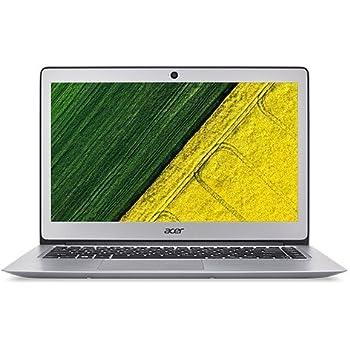 """Acer SF314-51-30Q - Ordenador Portátil de 14"""" FullHD (Intel Core i3-6006U, 4 GB RAM, 128 GB SSD, Intel HD Graphics 620, Windows 10), color Plateado- Teclado QWERTY Español"""