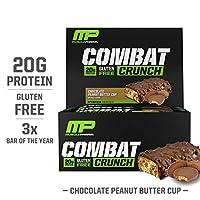Muscle Pharm - Gluten-Free Combat Crunch Bars Box Chocolate Peanut Butter 12
