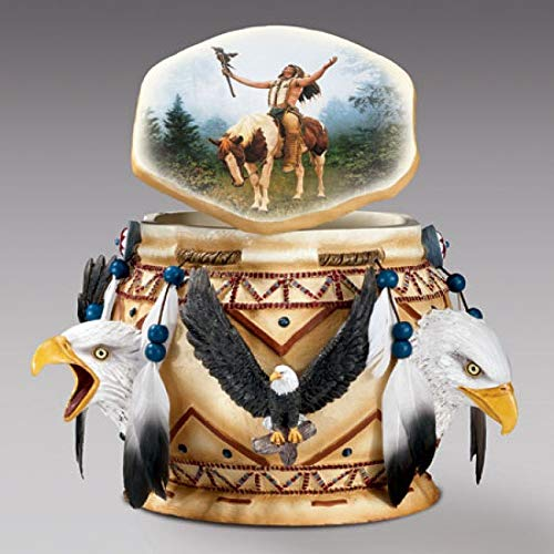 Bradford Exchange Skulptur American Indian Spirit of The Eagle -