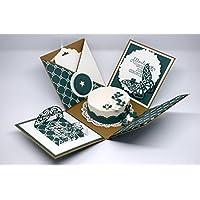 Explosionsbox zum Geburtstag (Geschenk, Geschenkverpackung), individuell und handgefertigt