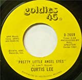 Pretty Little Angel Eyes / Gee How I Wish You Were Here - Curtis Lee 7