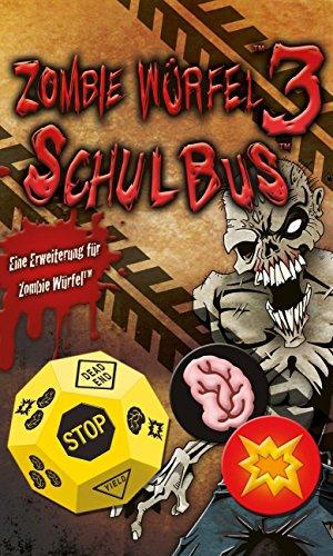 Pegasus Spiele 51833G - Zombie Würfel 3 Schulbus (Zombies Würfel)