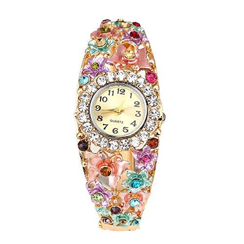 Sanwood-Womens-Flower-Butterfly-Crystal-Bracelet-Wrist-Watch