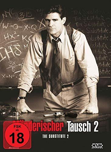 Möderischer Tausch 2 -   Substitute 2: School's Out  [Blu-Ray+DVD] - uncut - auf 333 limitiertes Mediabook Cover B