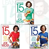 Joe Wicks 3 Books Bundle Collection (Lean in 15 - The Sustain Plan,Lean in 15: 15 Minute Meals and Workouts to Keep You Lean and Healthy,Lean in 15 - The Shape Plan)