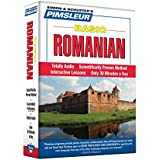 Basic Romanian: Learn to Speak and Understand Romanian with Pimsleur Language Programs (Simon & Schuster's Pimsleur)