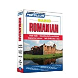 Pimsleur Romanian Basic Course - Level 1 Lessons 1-10 CD: Learn to Speak and Understand Romanian with Pimsleur Language Programs (Simon & Schuster's Pimsleur)
