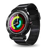 Btruely K88H Smart Watch Tracker Bluetooth Reloj Monitor de Ritmo cardíaco Deportes podómetro Marcación Smartwatch Teléfono para Android iOS Pulsera Actividad Control Remoto