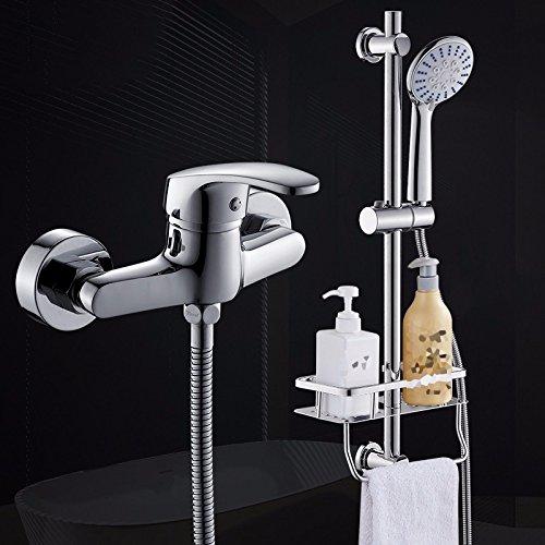 Preisvergleich Produktbild STAZSX Kupfer-WasserhahnBadBadewanneDuscheBrauseset,15527-stilvolle2-5Brausesetmontieren