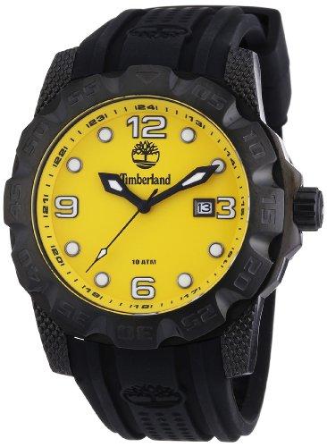 Timberland BELKNAP TBL.13317JSB/21 - Reloj analógico de cuarzo para hombre, correa de silicona color negro