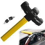 Barra antirrobo para volante y freno de mano, resistente, para coches y furgonetas
