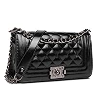 Other Leather Bag For Women, Black - Shoulder Bag