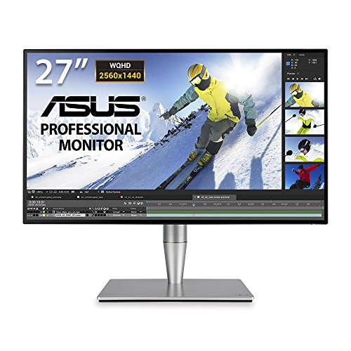 "Foto Asus PA27AC Professional Monitor da 27"" WQHD 2560 x 1440, IPS 4 side-frameless, HDR, 100% sRGB/Rec.709, Thunderbold 3 USB-C"