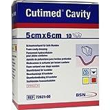 Cutimed Cavity Schaumverband 5x6 cm Nicht Haftend, 10 St