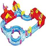 Kinder Kinder Spielzeug Jumbo Aqua Spielset Fließend Kanal Wasser Track Boot Anschluss Verschluss Hafen Indoor-garten Bade Spiel Weihnachtsgeschenk 6039A-WA-C7928