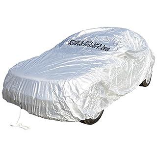 PEARL Ganzgarage: Premium Auto-Vollgarage für Kompaktklasse, 432 x 165 x 119 cm (Wasserdichte Autoabdeckplane)