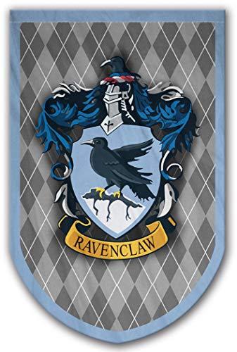 Harry Potter Stil Banner-Ravenclaw Flagge 94x 61cm-beidseitig bedruckt-langlebig genug für Außerhalb Bedingungen-Perfekt-Man Cave Geschenk-Einzigartiges HP Sammlerstück - Hewlett Packard Kostüm