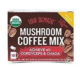 Four Sigma Foods Mushroom Coffee with Chaga and Cordyceps