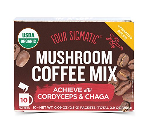 Four Sigmatic Mushroom Coffee Cordyceps Mix (10 Sachets)