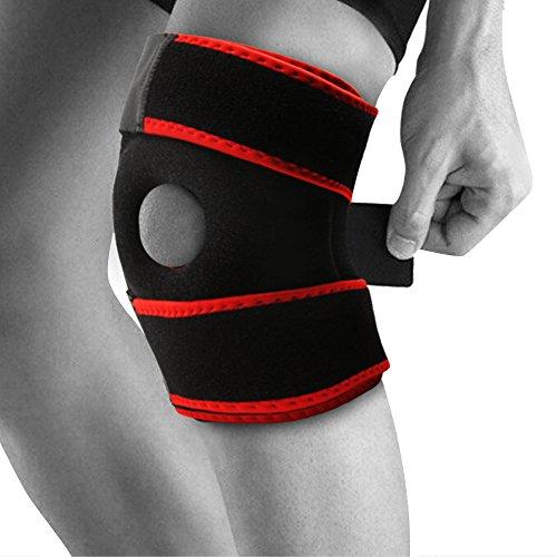 Attelle Xhivar néoprène respirant support de genou, taille réglable