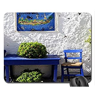 Alfresco Dining Crete Mouse Pad, Mousepad (Houses Mouse Pad)