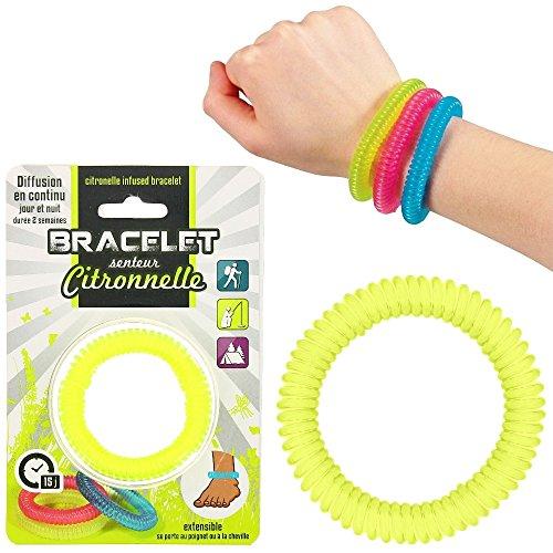 Promobo Armband Schlafkabine Duft Zitronenmelisse ausziehbar Neon Grün