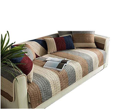 Divano slipcover mobili protector fodere copridivano,striscia antiscivolo spessore divano cuscino 1-pezzo-b 70x180cm(28x71inch)