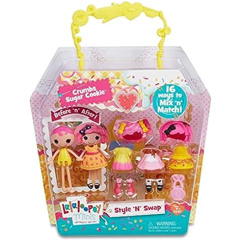 Lalaloopsy Crumbs Sugar Cookie - muñecas (Chica, Multicolor, De plástico, Vestido para muñecas, Zapatos, Femenino, CE)
